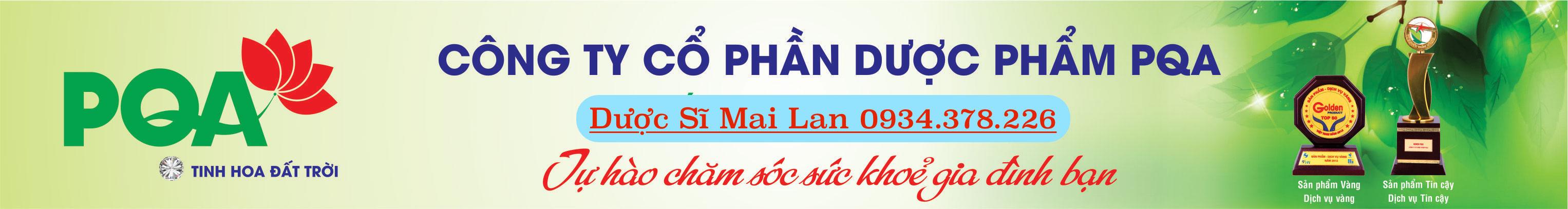 PQA – Công ty dược phẩm PQA